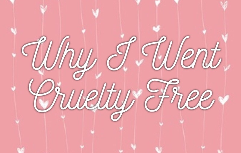 🐰Why I went cruelty free🐰