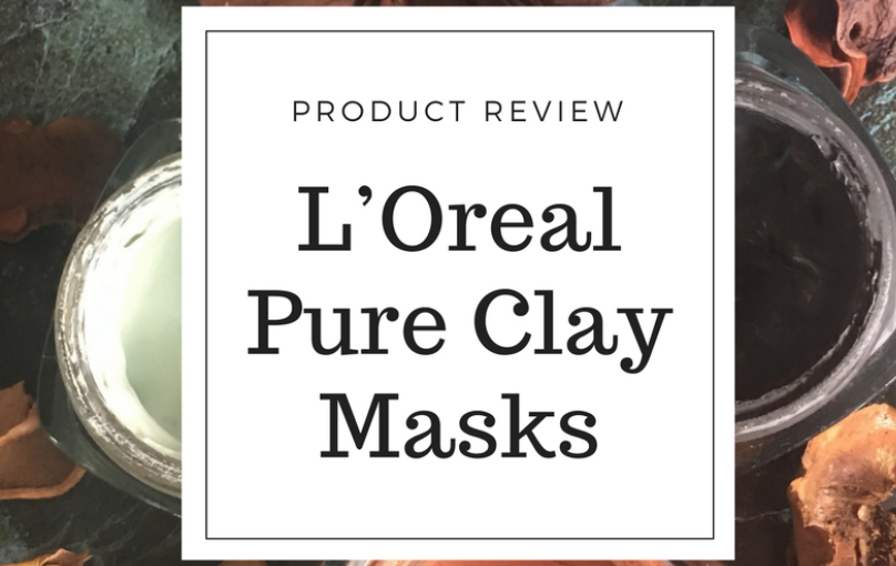 Review: L'Oreal pure clay masks