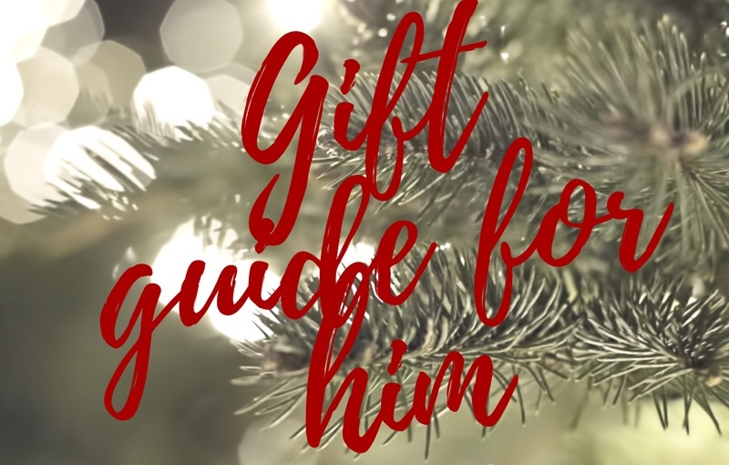 BLOGMAS – DAY 3 – Gift Guide for him
