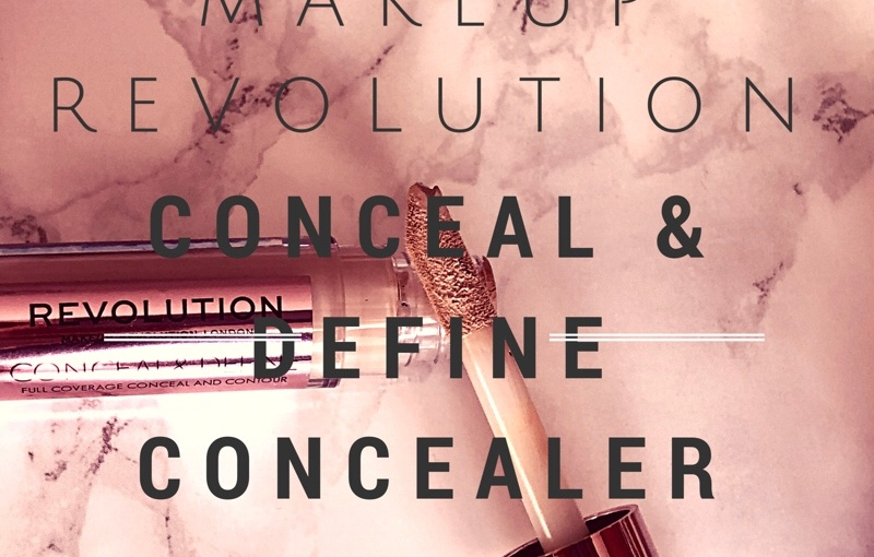 Makeup Revolution Conceal & Define Concealer Review