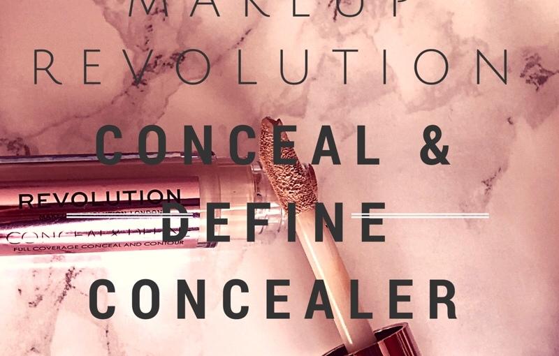 Makeup Revolution Conceal & Define ConcealerReview